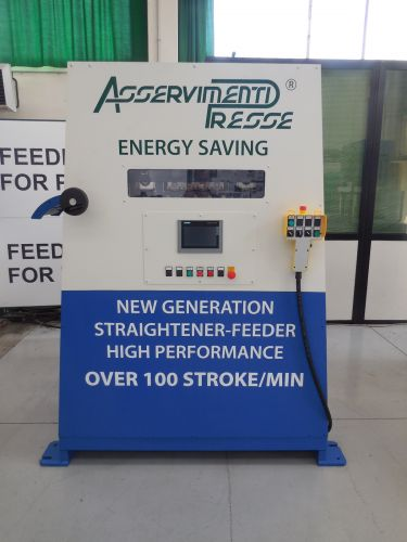 New high performance straightener-feeder unit